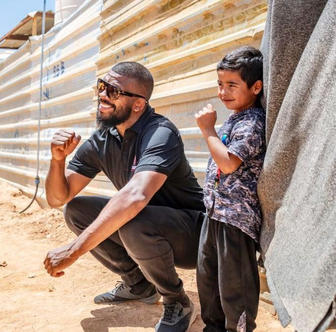 'I FIGHT FOR THEM' Two-weight world champion Badou Jack fighting for refugee children with new foundation
