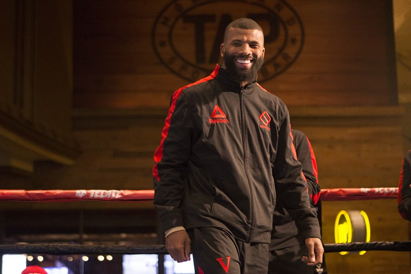 Badou Jack giving refugee children a fighting chance at life